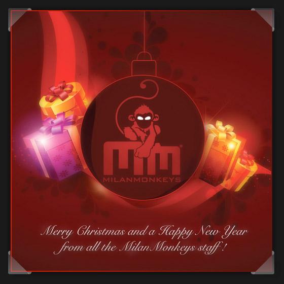 Buon Natale dallo staff MilanMonkeys